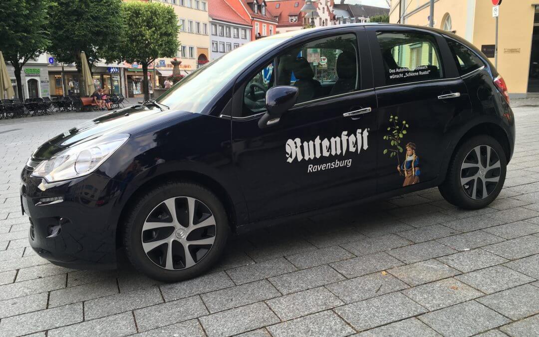 Das Rutenfestabzeichen 2016: Hirschgraben 2