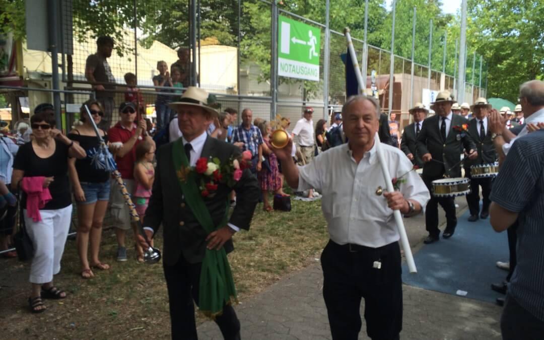 Altenschützenkönig der Ravensburger Gymnasien 2015