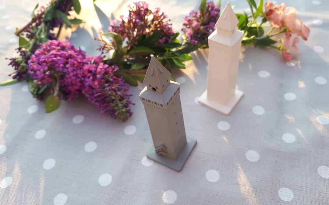 Rutenfest Abzeichen 2018: Der Gemalte Turm